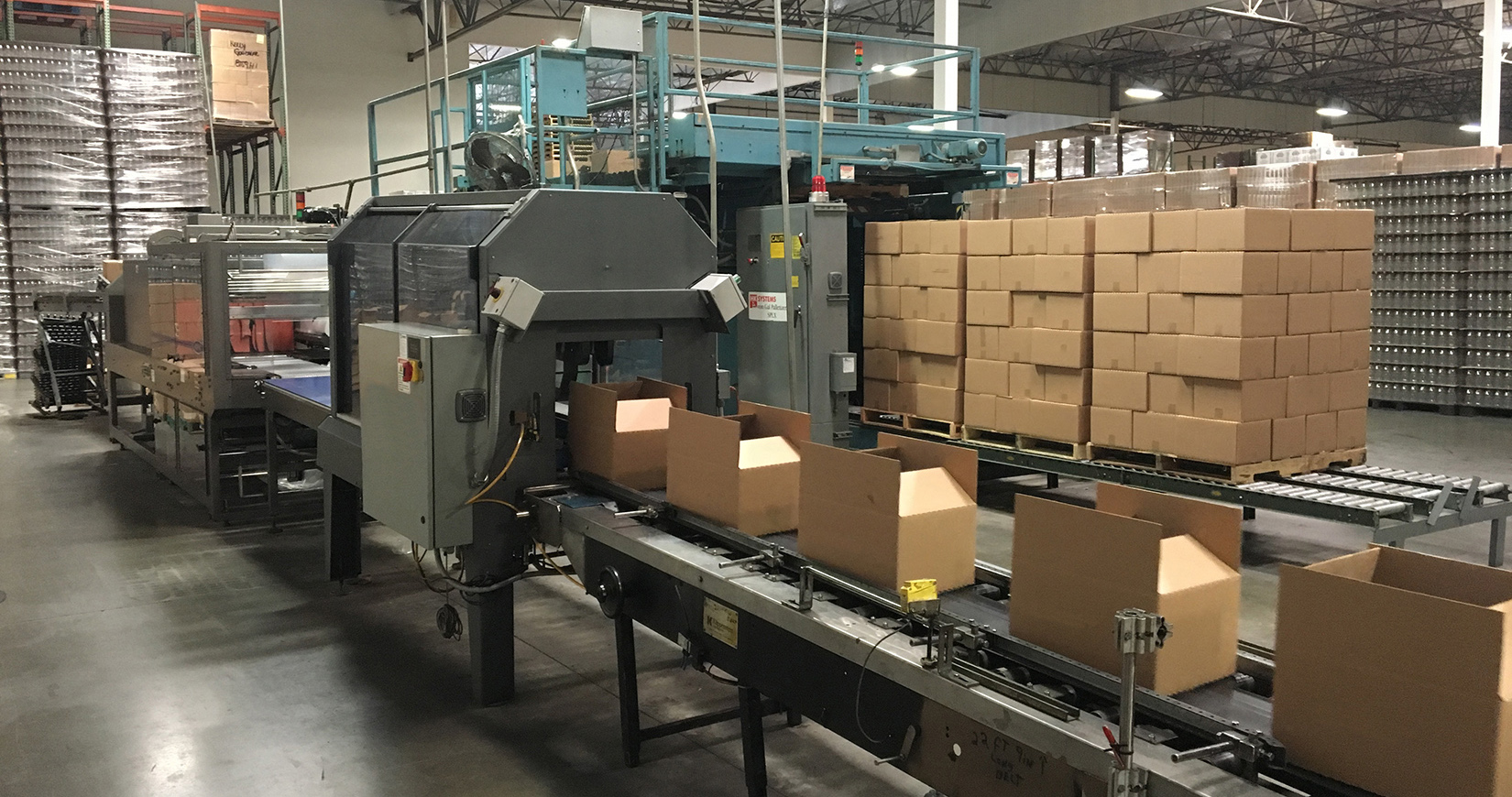 Food processing boxes